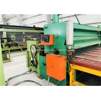 Buy cheap Green Gabion Wire Mesh Machine 5300mm Max. Netting Width For Slope Revetment product