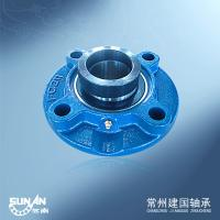 Buy cheap High Speed Round Flange Bearing Pillow Block 55mm UELFC211 / HCFC211 product