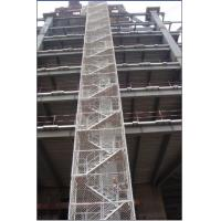Safe Adjustable Twin Guardrail Scaffolding Stair Towers
