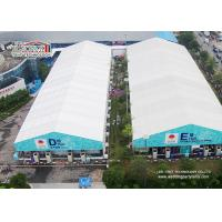 China Custom White Outdoor Exhibition Tents Aluminum Hajj Tent For Ramadan on sale