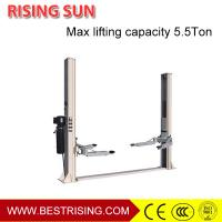 China Double cylinder hydraulic design car repair used double post car lift on sale