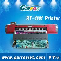 Buy cheap 1.8m high fast speed quality flex banner dye sublimation eco solvent printer product
