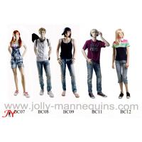 Buy cheap Jolly mannequins-children realistic head with make up teenager mannequin BC collection product