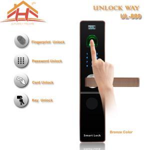 Buy cheap Contactless Face And Fingerprint Lock , Biometric Fingerprint Scanner Door Lock from wholesalers