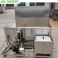 Buy cheap Stainless Steel Ultrasonic Engine Cleaner 28khz Frequency With Oil Filtration System product