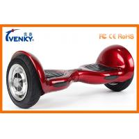 China Red Children Self Balanced Scooter , 10 Inch LED 2 Wheels Hover Board on sale