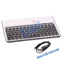 China High Quality Aluminum Case Wireless Bluetooth Keyboard for Tablet / Laptop / Smartphone on sale