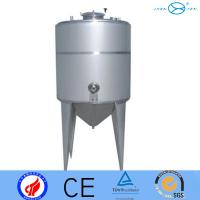 Biopharmaceutical Brewery Stainless Fermentation Tank  Insulation Function