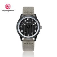 China Teenage Leather Sports Watch , Water Resistant Fashion Watches For Teenagers on sale