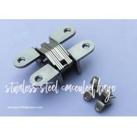 Buy cheap Furniture Cabinet Stainless Steel Concealed Hinges Angel cupboard Hinge product