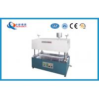 Buy cheap Insulation Rubber Abrasion Testing Equipment , Abrasion Testing Machine product