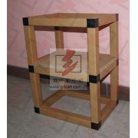 Buy cheap Corrugated Cardboard Storage Shelves Eco Friendly For Showroom product