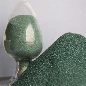 China Green silicon carbide abrasive for sandblasting silicon carbide price on sale