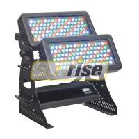 Buy cheap DMX512 Channels Flood Led Wall Washer Lights With 108x3W RGBW LEDs Lamp Source product