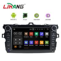 Buy cheap Left Hand Driving Multimedia Toyota Car DVD Player With MP3 MP4 DVR AUX product