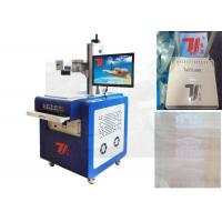 Buy cheap UV Laser Marking Machine Plastic With Water Cooling System , 356nm wavelength product