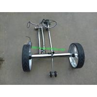 Buy cheap 2014 Wireless Remote Controlled stainless steel brushless motor golf trolley from wholesalers