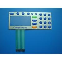 Buy cheap Digital Printed Embossed Keypad Membrane Switch 30V DC With Touch Panel product