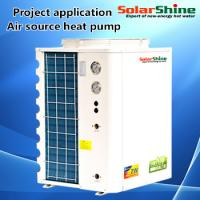China Medium Size Most Efficient Air Source Heat Pump 4.5 - 20 KW Heating Capacity on sale