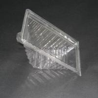 Buy cheap Plastic Wedge Sandwich Container, Made of Recyclable Material PET product