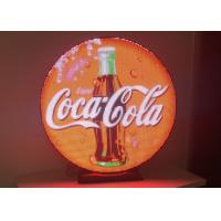 Buy cheap Outdoor Waterproof Round Led Display With Meanwell Power Supply 6000 Nits product