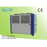 Buy cheap Air Cooled Packaged Type Air Cooled Chilled Water System 65.1 - 116.0 M³/H Plate Corlor Chiller product
