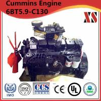 Buy cheap Cummins diesel engine for construction machinery 6BT5.9-C130 product