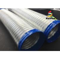 Buy cheap High Pressure Semi Rigid Flexible Ducting Aluminum Tube Flexible Air Conditioner Hose product