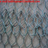 Buy cheap Hexagonal wire mesh, chicken wire mesh, poultry wire 1/2 hex mesh chicken wire/22 Ga. Chicken Poultry Wire Fence 1 Hex product