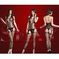 Buy cheap Beauty's Love sexy lingerie women new arrivals black new sexy nylon hot net bodystocking product