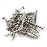 Buy cheap 50mm Robertson Stainless Square Drive Deck Screws Hardwood SQ2 Type 17 316 SS product