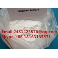 Buy cheap CAS 595-33-5 Raw Hormone Powders Megestrol Acetate For Female Health product