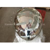 Buy cheap Electroplated Item Custom Mirror Silver Fiberglass Balloon with Light Inside product