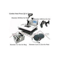 Buy cheap 5 in 1 Combo Heat Transfer Machine product