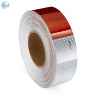 Buy cheap Adhesive DOT Reflective Tape , Honeycomb Hi Viz Fmcsa Reflective Tape On Dump Trucks product