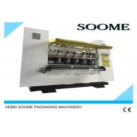 Buy cheap Corrugated Thin Blade Slitter Scorer Machine Fast Changing Order Within 1 To 5 Seconds product
