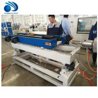 Buy cheap CE Plastic Pipe Manufacturing Machine Conduit Corrugated Tube Making product