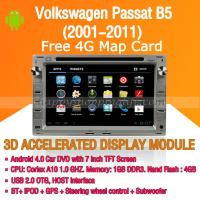 Buy cheap Android Car DVD Player GPS Navigation Wifi 3G for Volkswagen Passat B5 2001-2011 Bluetooth Touch Screen product