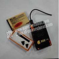 China Poker Cheat / Gambling Accessories Bluetooth Earpiece With Mobile Phone on sale