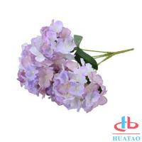 Buy cheap PE Artificial Hydrangea Flowers For Wedding / Parties Decoration product