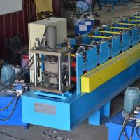 Buy cheap Double Raw Or Three Raw Furring Channel Roll Forming Machine High Efficiency product