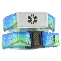 Buy cheap Stainless Steel Medical ID Bracelet Charm product
