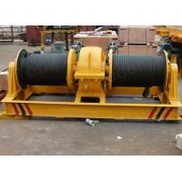 Buy cheap manufacturer supply chinese electric winch simple structure rope winch with dual drum product