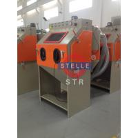 Buy cheap Suction Sand Blast Cabinet Rust / Industrial Sandblaster Cabinet Paint Removal product