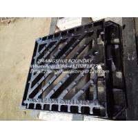 Buy cheap cast iron gully gratings and frame EN124 B125 product