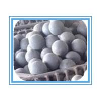 Buy cheap HRC 55-65 Forged Grinding Media Balls For Mining , High hardness product