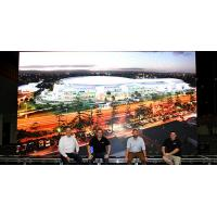 Buy cheap Australia Gold Coast Convention with TBC D series Rental Led Display P4.81 High Refresh Rate product