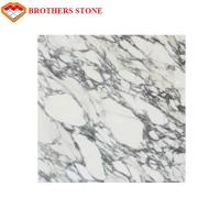 Buy cheap Italy White Marble Stone Arabescato Corchia Marble Slab For Bathroom Basin Countertop product