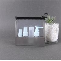 Buy cheap High Durability Clear Plastic Zip Cosmetic Bags High Pressure Resistance product