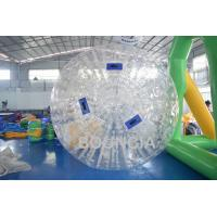 Buy cheap 1.0mm TPU Body Zorb Ball Without Harness For Walk On Grassland from Wholesalers